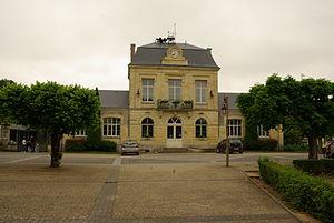 Brécy, Cher - Town hall