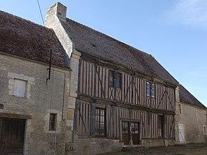 Barou-en-Auge - Half-timbered house