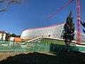 Maison olympique en construction, Lausanne.jpg