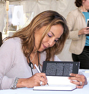 Malika Oufkir - Malika Oufkir signs her book, Freedom: The Story of My Second Life, at the 2006 Texas Book Festival.