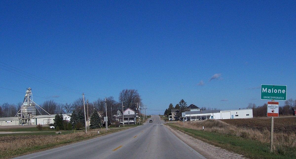 Malone Wisconsin Wikipedia