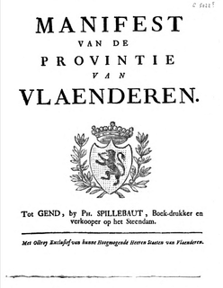 Manifesto of the Province of Flanders