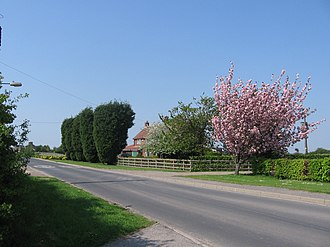 Newland, East Riding of Yorkshire - Image: Manor Farm Newland