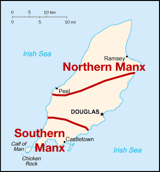 Manx dialects