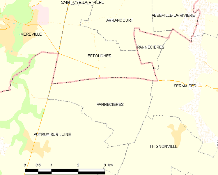 Fichier:Map commune FR insee code 45246.png