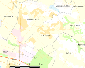Map commune FR insee code 64399.png