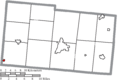 Map of Champaign County Ohio Highlighting Christiansburg Village.png