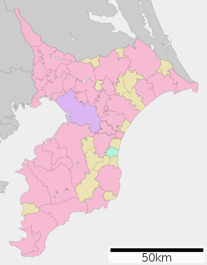 Map of Chiba Prefecture Ja.svg