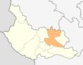 Map of Dupnitsa municipality (Kyustendil Province).png