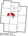 Map of Jackson County Ohio Highlighting Jackson City.png