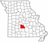 Map of Missouri highlighting Laclede County.png