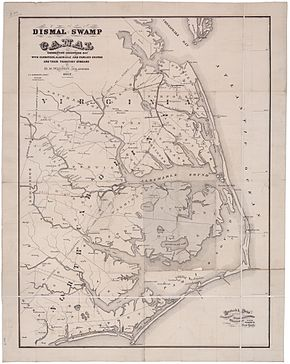 Map of the Dismal Swamp Canal 1867.jpg