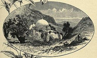 Maqam (shrine) - Maqam in Northern Palestine (C. Wilson, 1881).