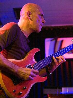 English: Marc Ducret, jazz guitarist; Picture ...