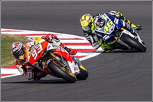 2013 Grand Prix motorcycle racing season - Image: Marc Marquez