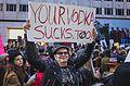 March against Trump, New York City (30833889252).jpg