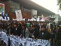 Marcha estudiantes, frente al GAM, 3 mayo 2013.jpg