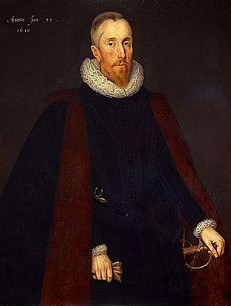 Judiciary of Scotland - Alexander Seton, 1st Earl of Dunfermline, by Marcus Gheeraerts the Younger. He was Lord President of the Court of Session from 1598 to 1604 and Lord Chancellor of Scotland from 1604 to 1622.