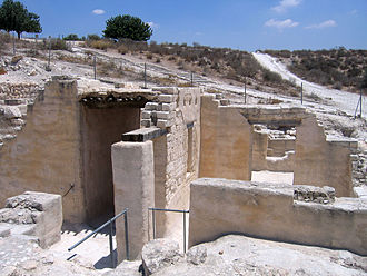 Beit Guvrin National Park - Maresha dwellings