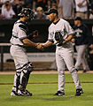 Mariano Rivera shakes Jorge Posadas hand.jpg