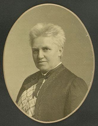 Marie Luplau - Marie Luplau by Julie Laurberg (c.1910)