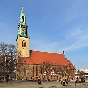 St. Mary's Church, Berlin - St. Mary's Church in central Berlin