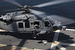 Marines, Sailors conduct first time flight operations aboard USS America (LHA 6) 140711-M-HB658-078.jpg