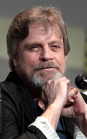 Mark Hamill - Hamill at the 2015 San Diego Comic-Con International promoting Star Wars: The Force Awakens
