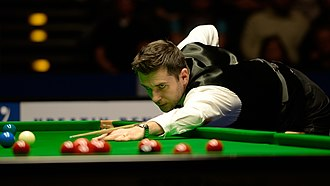 Selby at 2014 German Masters Mark Selby at Snooker German Masters (DerHexer) 2015-02-08 38.jpg