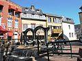 Marktstraat met rivier Gulp,cascade-Gulpen.jpg