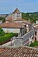 Marthon 16 Toits&clocher depuis chapelle Saint-Jean 2013.jpg