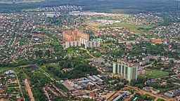 Marushkino in New Moscow - aerial view 05-2015.jpg