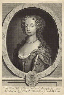 Mary Somerset, Duchess of Beaufort (1630–1715) English noblewoman, gardener and botanist