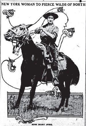 Mary Jobe Akeley - Mary L. Jobe, c 1913