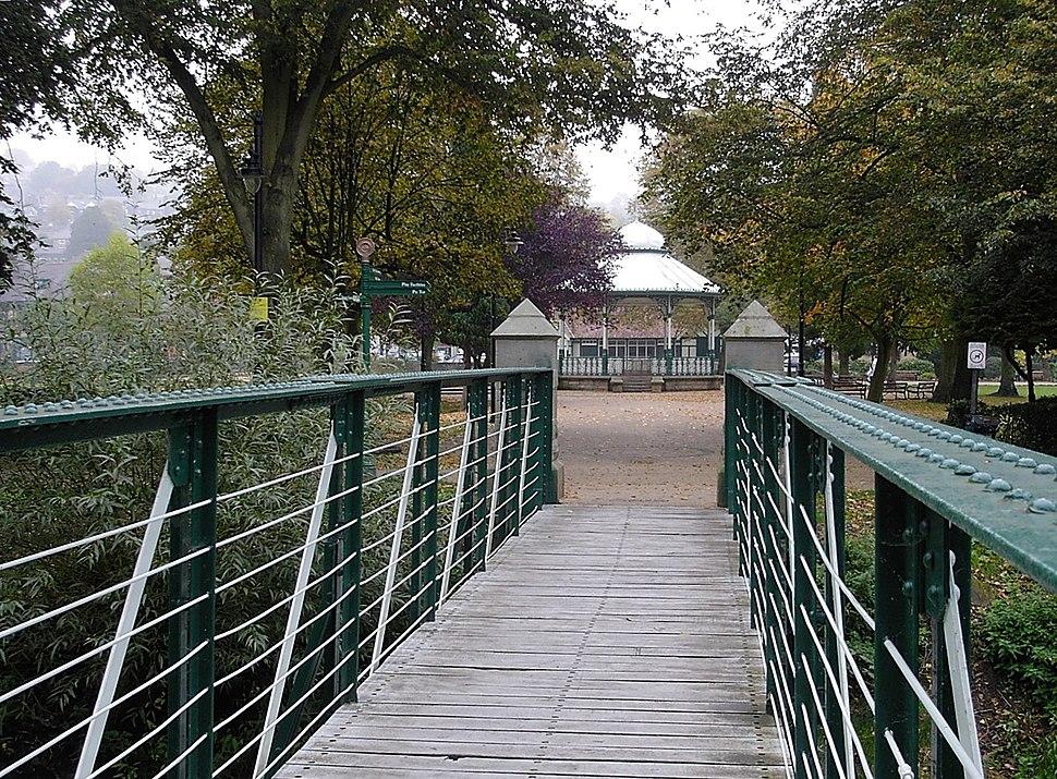 Matlock - Hall Leys Park Bandstand