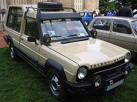 2012 - [Citroën] C-Elysée [M43] - Page 2 280px-Matra_Rancho_vue_avant