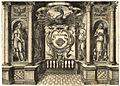 Matthäus Greuter Balkondetail aus einem römischen Palazzo c1600 ubs G 0878 II.jpg