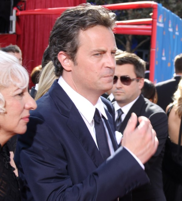 Photo Matthew Perry via Wikidata