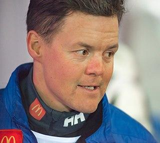 Mattias Hargin Swedish alpine skier