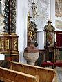 Mauerstetten - St. Vitus - Taufstein.JPG