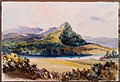 Maunga Taupirir on the Waikato River by Caroline Harriet Abraham August 1854.jpg