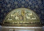 Mausoleo di galla placidia, int., buon pastore 02.JPG