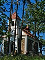 Mausoleum Chapel at the cemetery near Kijaviec in Tupaĺščyna spot - panoramio.jpg