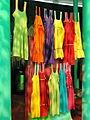 Maxakali dresses - Memorial dos Povos Indígenas - Brasilia - DSC00572.JPG