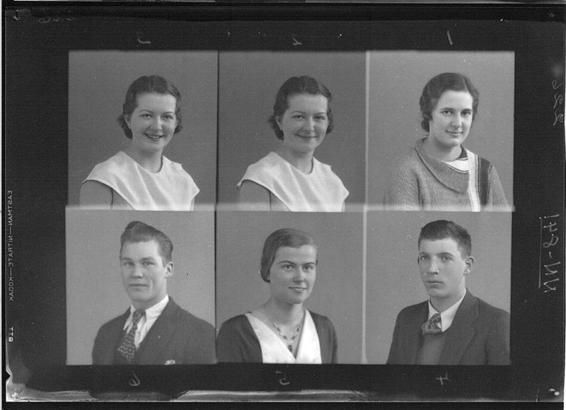 File:McGuffey High School yearbook portraits 1933 (3199628253).jpg