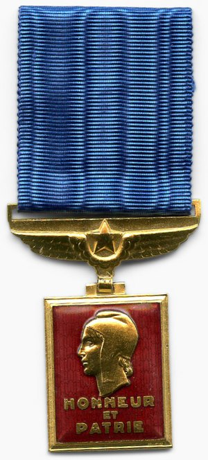 Aeronautical Medal - Aeronautical Medal (Obverse)