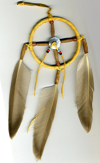 Medicine wheel of the Lakota Native American p...