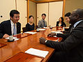 Meeting with Vice Minister for Foreign Affairs Nobuo Kishi (11050492674).jpg