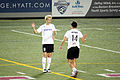 Megan Rapinoe and Sara Huffman.jpg