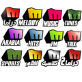 Melody Tv Channels Logos.png